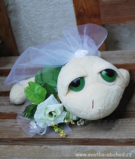 Želvičky na svatební auto,