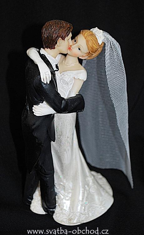 Žertovná figurka na svatební dort ,