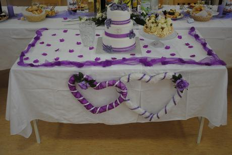 Svadobné srdcia na hlavný stol ,