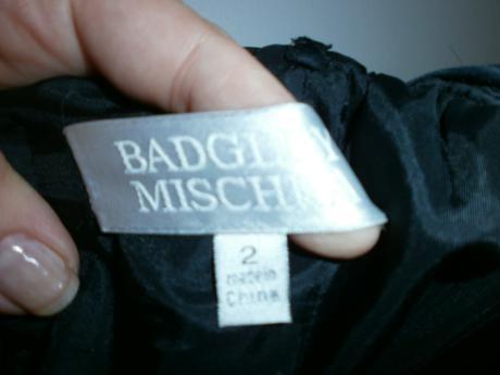 luxusne saty badgley mischka , 36
