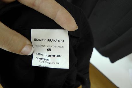 Pánský oblek Bažek, 48