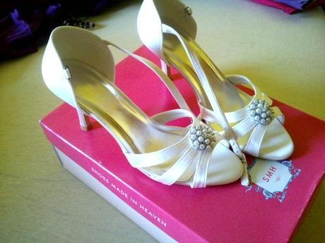 Ivory svadobné topánky, 38