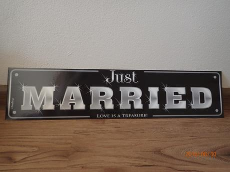 SPZ na svatební auto,