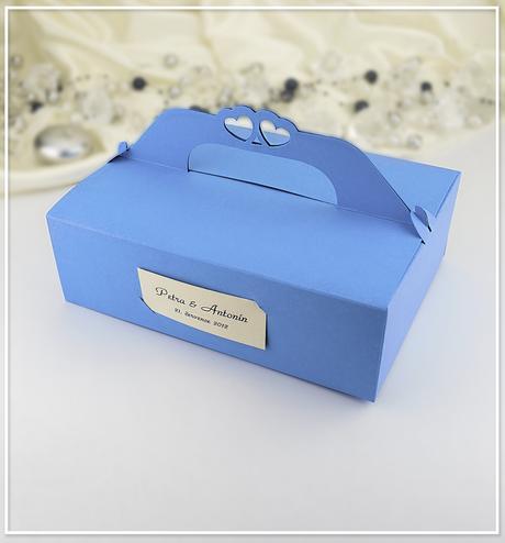 Svatební krabička na výslužku K109,