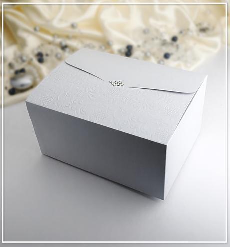 Svatební krabička na výslužku K962,