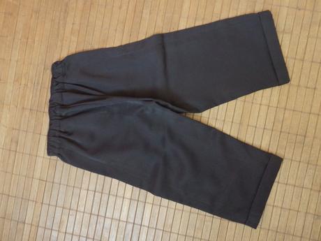 Elegantné nohavice s vestičkou na 1-2rok, 92