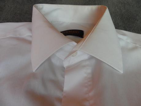 Paco Romano neoblečená biela košela L , 48