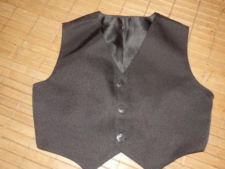 Slávnostný čierny oblek na 10-18mes, 86