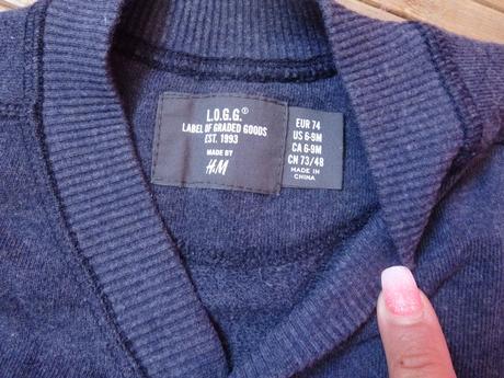 Štýlový svetrík pre frajera H&M, 74