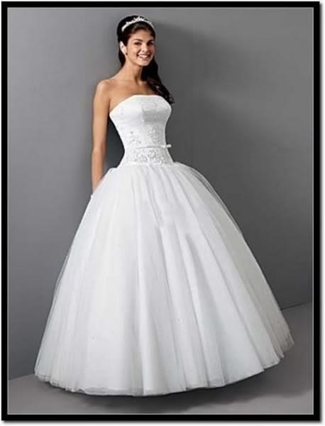 svatební šaty bez vlečky, 36