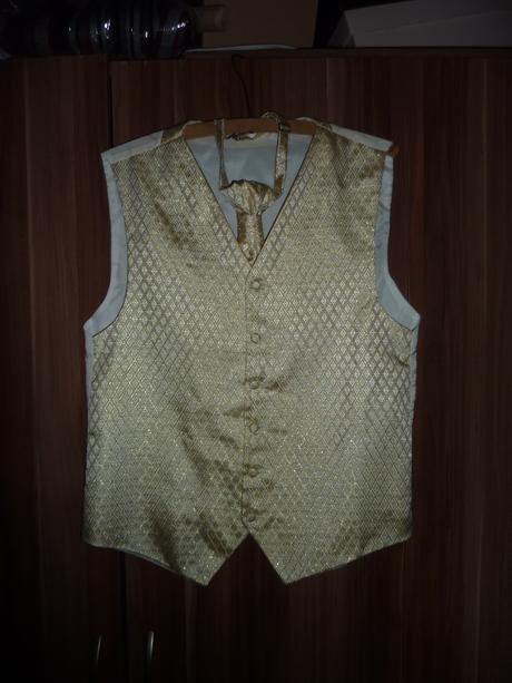 luxusná vesta s francúzskou kravatou, 40