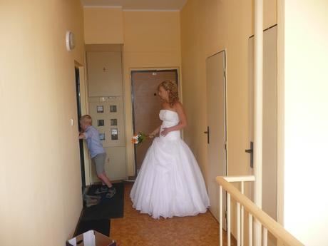 Svatební šaty vel.36-40 - možná i sleva , 38