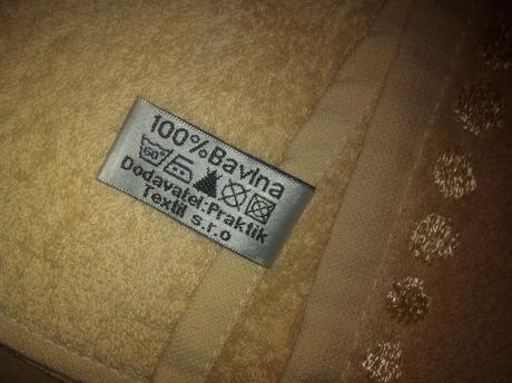 Bavlnený uterák a osuška,
