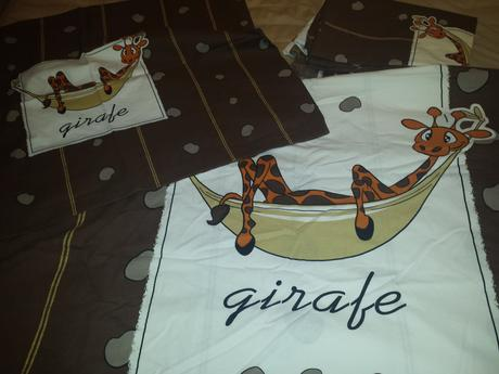 Posteľné obliečky Žirafa,