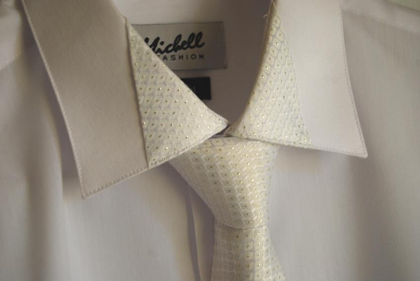 15f2b95bbec9 Perfektná luxusná pánska svadobná koseľa michell