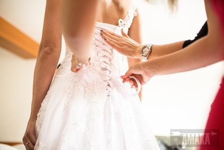 Svatební šaty vel. 34 - 38, 38