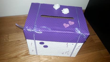 Krabice na přání papírová,