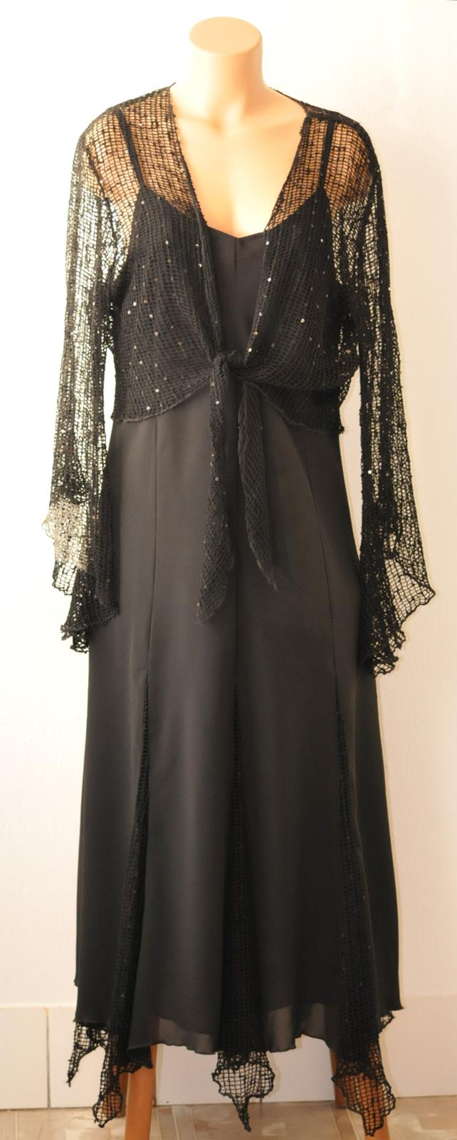 Spoločenské dámske šaty + bolerko cc7d582742f