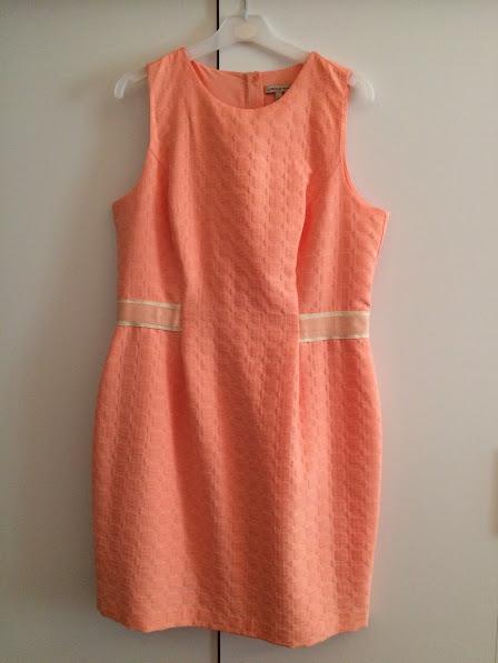 Luxusní lososové šaty , 44