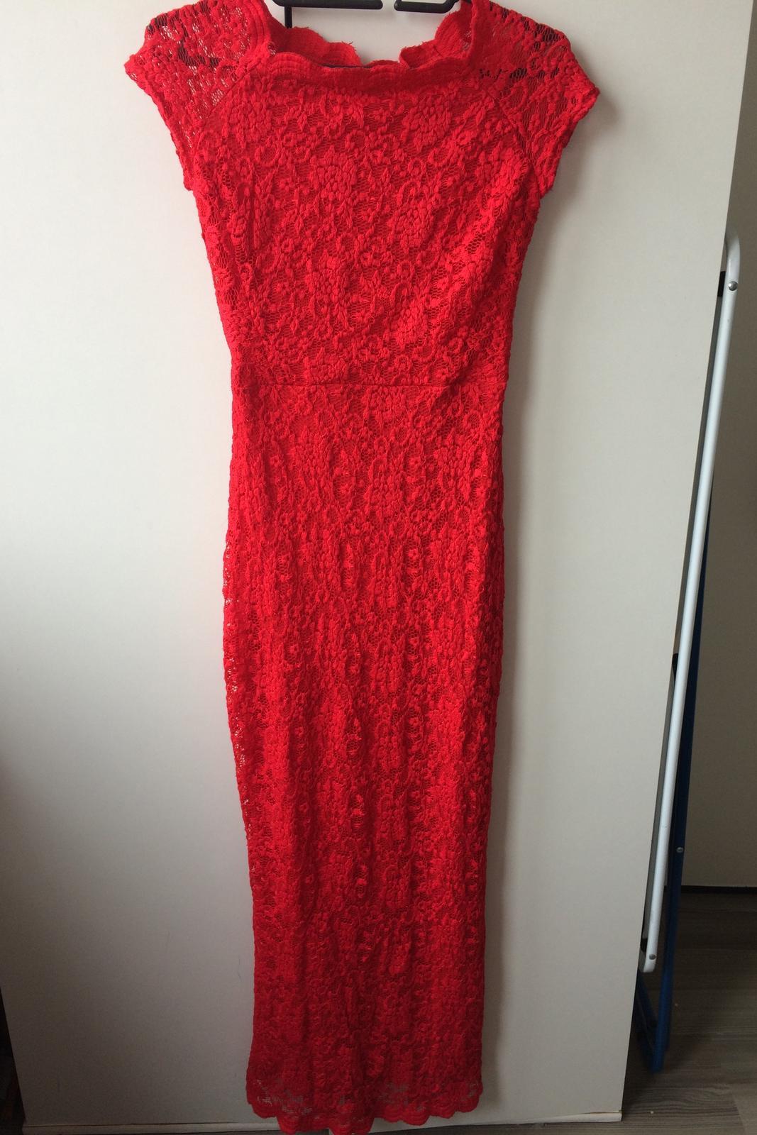 77e2e93c7d8 Dlouhé krajkové šaty orsay