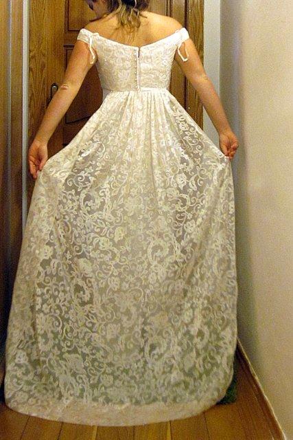 Zľava - zaujímavé šaty zn. stevies gowns, 36 - 29 € | Svadobný bazár ...