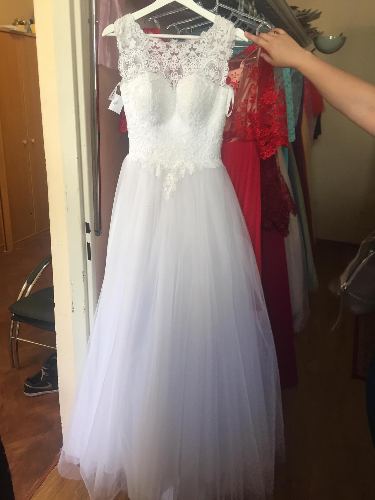 314847e31587 Svadobné šaty v. 38 40