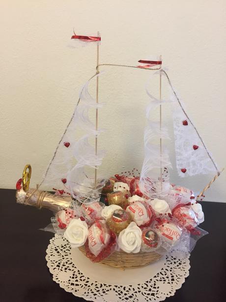 Darček Svadobná lod',