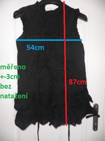černé krátké krajkové šaty zn.Next, L