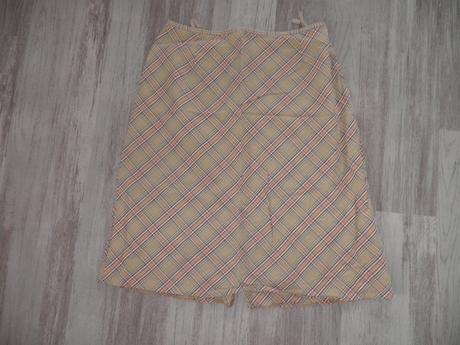 károvaná sukně 42, 40