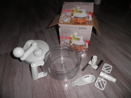 ruční mixer handy - multifunkční drtič,