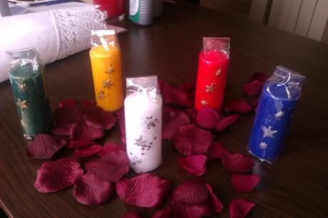sviečky na stoly - mix,
