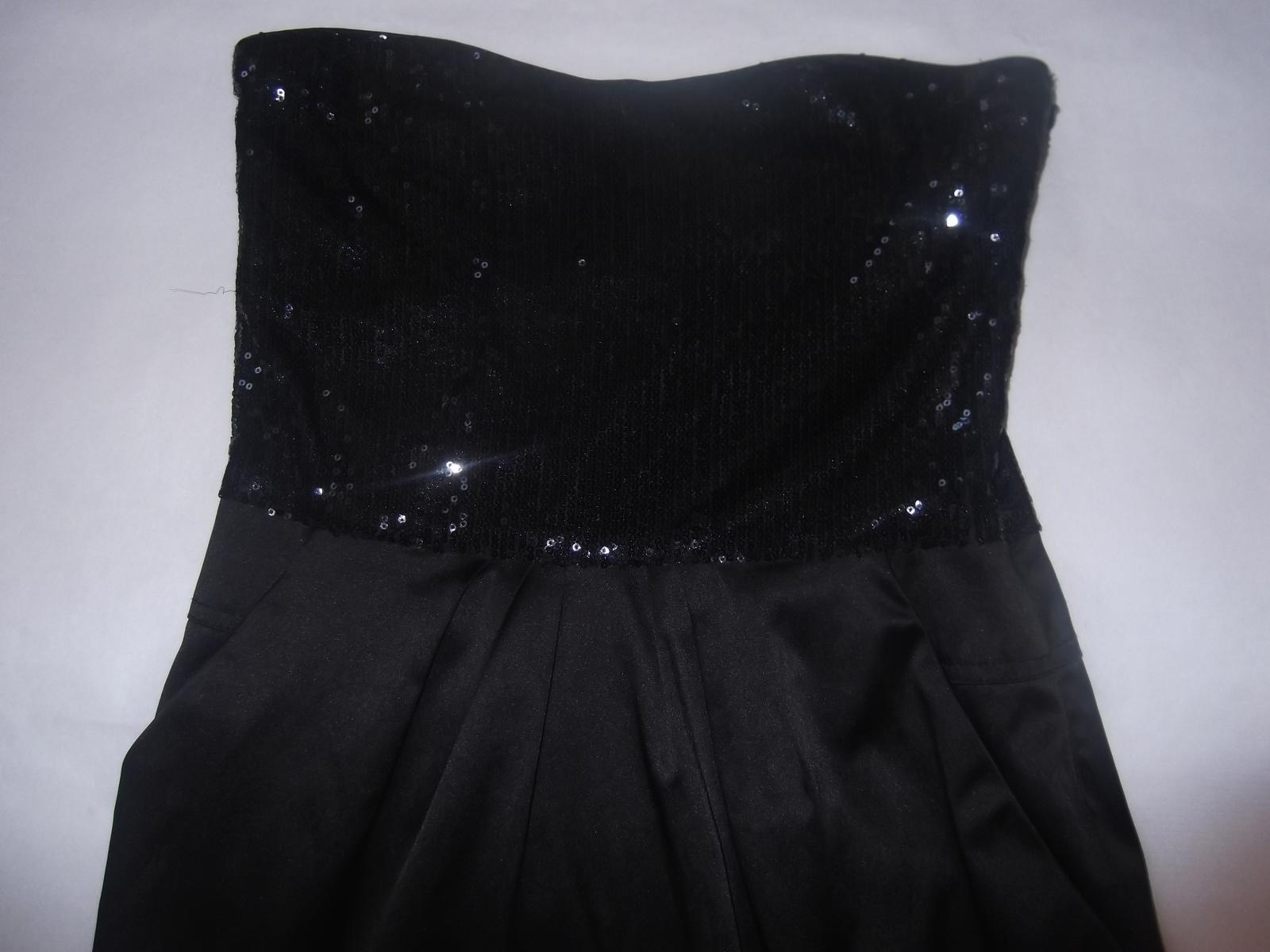 Čierne koktejlove šaty cccb84b988d