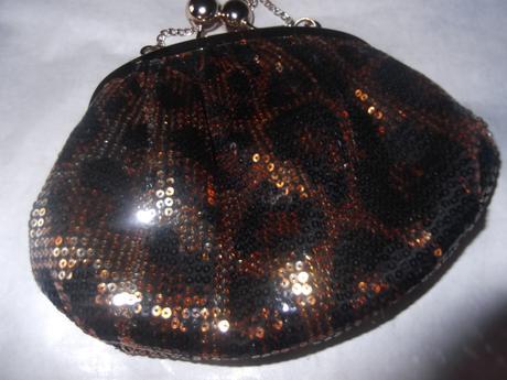 Čierno zlatá kabelka New Look, S