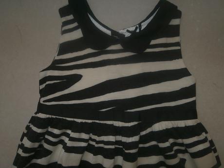 Zebrovane šaty - Next, 86, 86