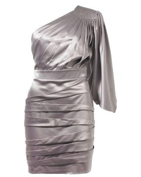 značkové strieborno fialkove šaty Lipsy, M