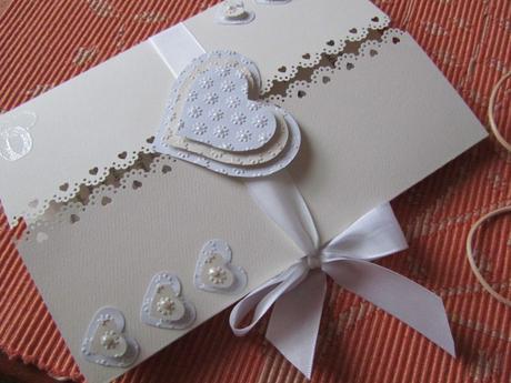 Svatební blahopřání- Srdíčka - Ivory, champagne 2.,
