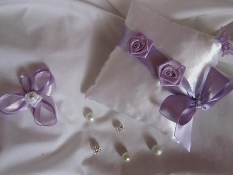 Svatební polštářek pod prstýnky 2,