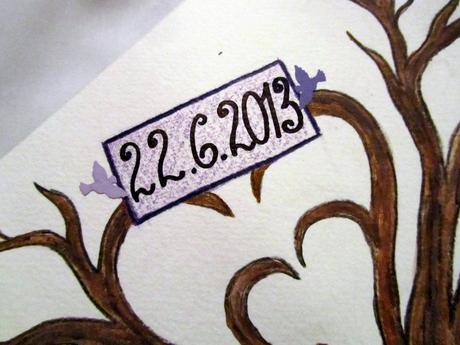 svatební strom -1- na přání,