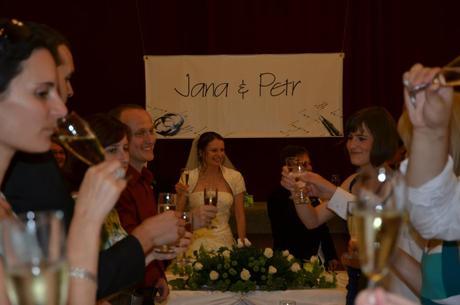 Svatební plakát (wedding banner),