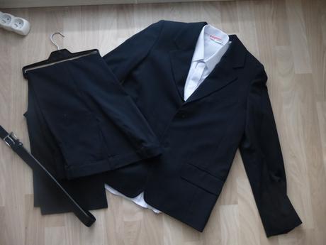 Oblek + kosela + opasok, posta v cene, 158