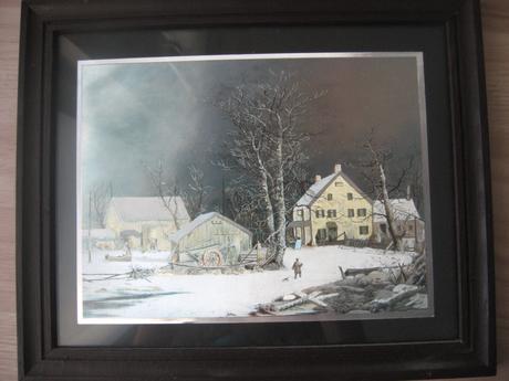Obraz dedinka,