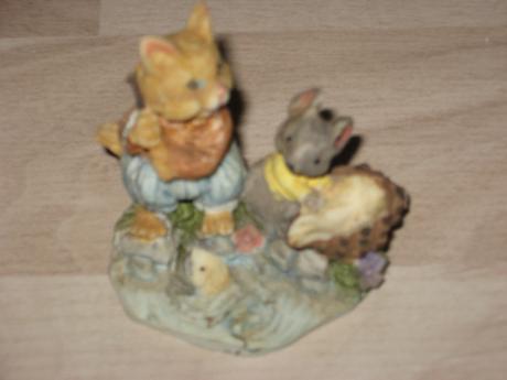 Soška mačka, myška,