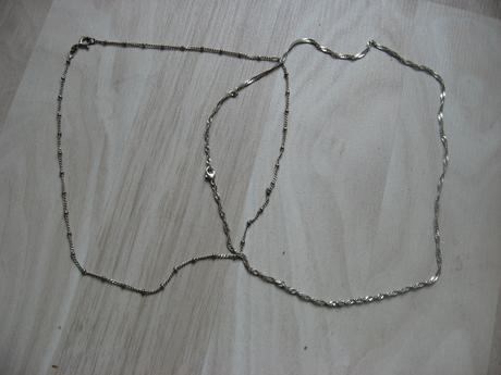 Strieborná retiazka,
