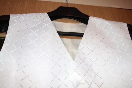 Vesta+kravata, šitá na mieru, 52