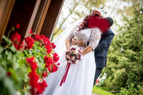 Svadobné šaty veľkosť 48-56, 52