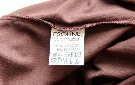 Esoline čokoládovohnedý top, 36
