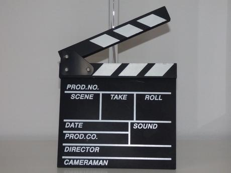 filmová klapka,