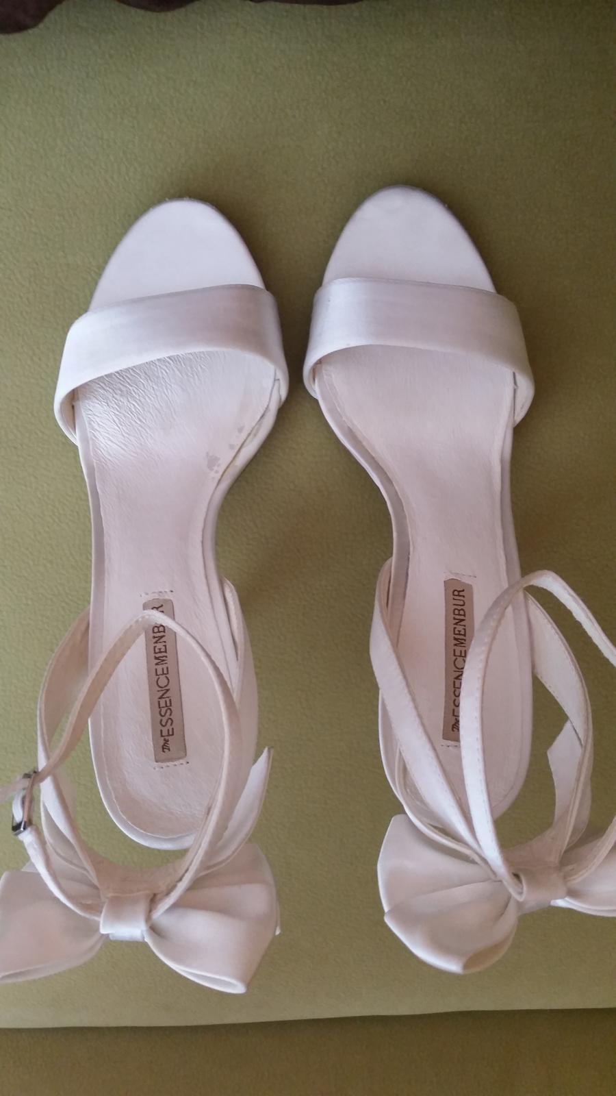 f95e9032cebd Svadobné sandále menbur ivory s poštovným