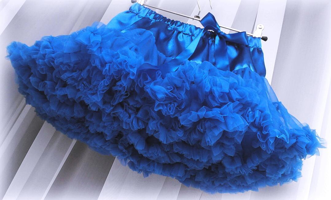 6826ec667513 Tutu tylová sukýnka sukně dětská modrá