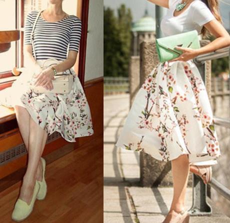 Saténová sukně společenská, 36